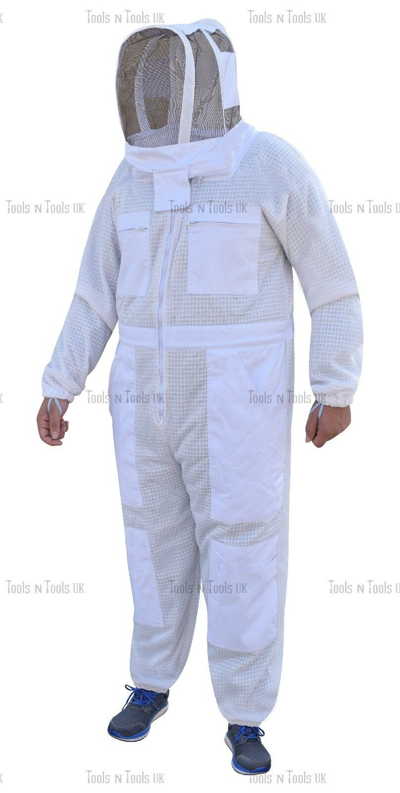 Details about  /3 Layer Ultra Breeze Ventilated Protective Mesh Beekeeping beekeeper Bee Suit