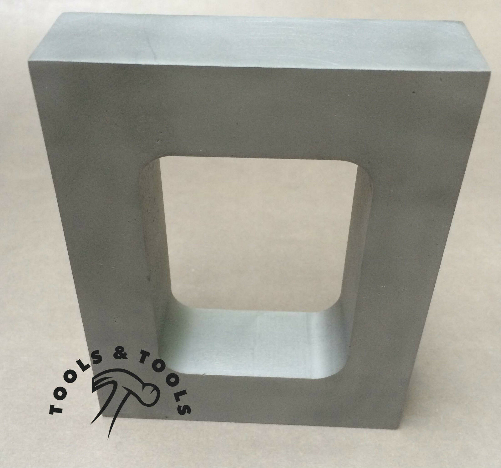 ALUMINUM MOLD FRAME SINGLE CAVITY VULCANIZER RUBBER 1'' THICK JEWELRY MAKING