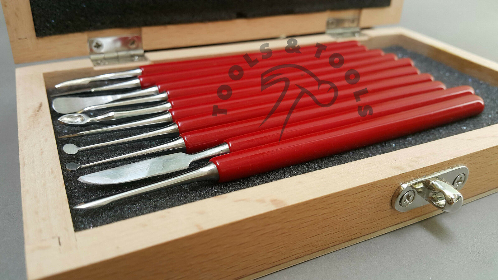 Piece box carver set wax carvers carving tools metal